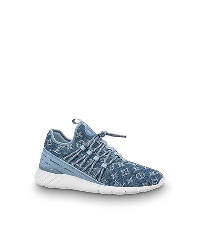 5013dfb84c9e1 Louis Vuitton Fastlane Sneaker (LV 8.5   US 9.5) Denim Blue