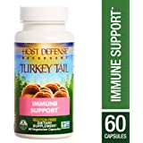 Host Defense - Turkey Tail Capsules, Mushroom Support for Immune Response, 60 Count (FFP)