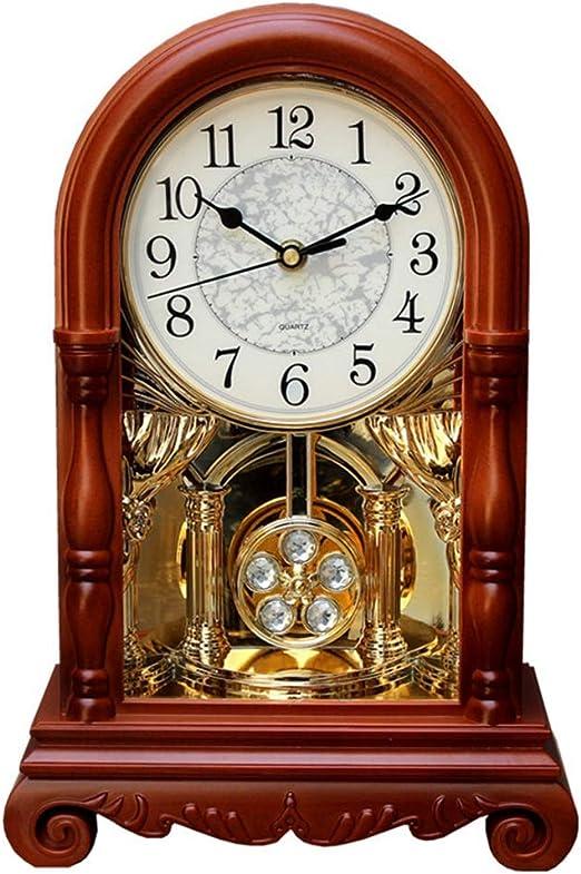 Reloj clásico Reloj de mesa Vintage Sala de estar Decoración ...