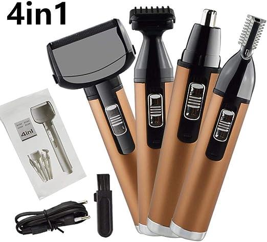 RATWIFE Todo-en-uno la máquina 4 en 1 Capacidad Set afeitadora ...