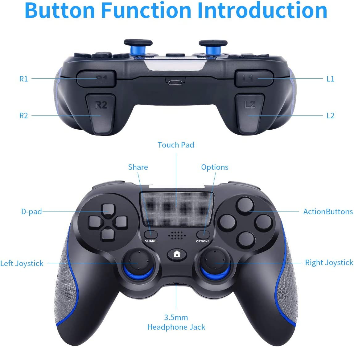 Wireless Controller for Playstation