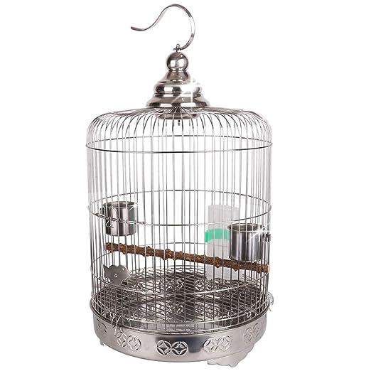 YC electronics Jaulas para pájaros Aumentar Chasis Boutique Acero ...