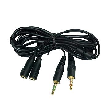 Amazon.com: Lovinstar - Cable de extensión para auriculares ...