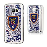 Keyscaper MLS Real Salt Lake Paisley Clear for Galaxy S7, Black