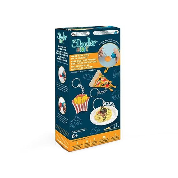 Amazon.com: 3Doodler Start Make Your Own Food Keyrings ...