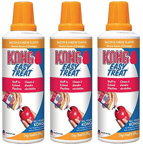 KONG Stuff'N Easy Treat Paste Flavor:Bacon Pack of 3