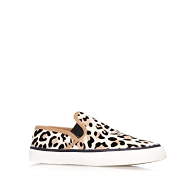 dc4e31e8ec1b Carvela Womens Leopard 'Laurel' Slip On Trainer Pump 3: Amazon.co.uk: Shoes  & Bags