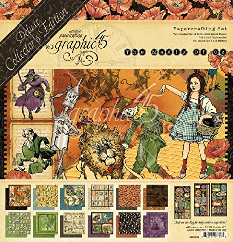 Graphic 45 4501899 Magic of Oz DeluxeCollectorEdt