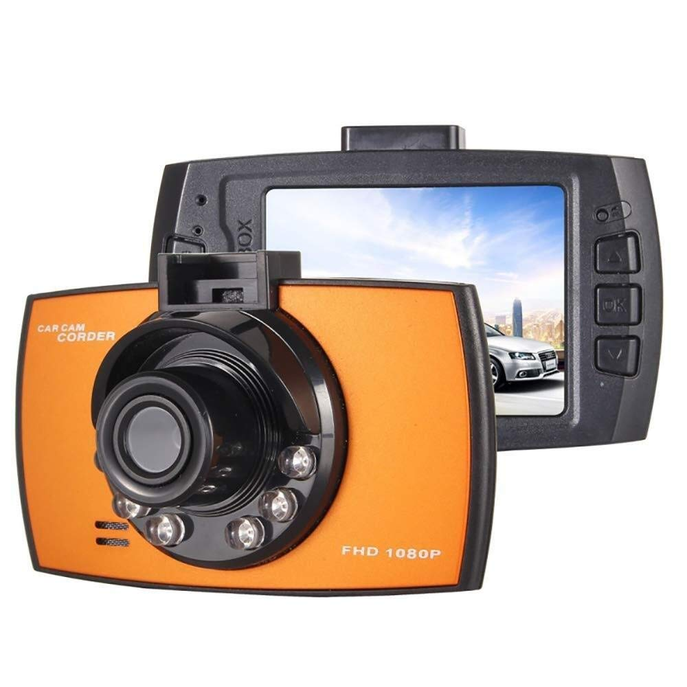 CHEZAI Dash Cam Car Camera, 720P VGA 2.4 Inch LCD Screen Display Car DVR Recorder, Support Loop Recording/Motion Detection/Night Vision Function by SPRIS