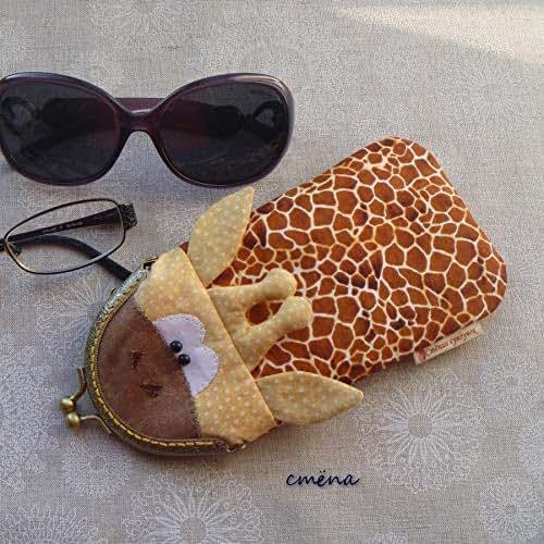 Amazon.com: Handmade Eyeglass Case Fabric Cover with Frame