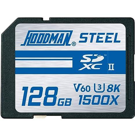 Hoodman Steel 128GB SDXC 1500X UHS II 260Mb/S Tarjeta de ...