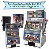 Trademark Poker Play The Game Lucky Slot Machine Bank