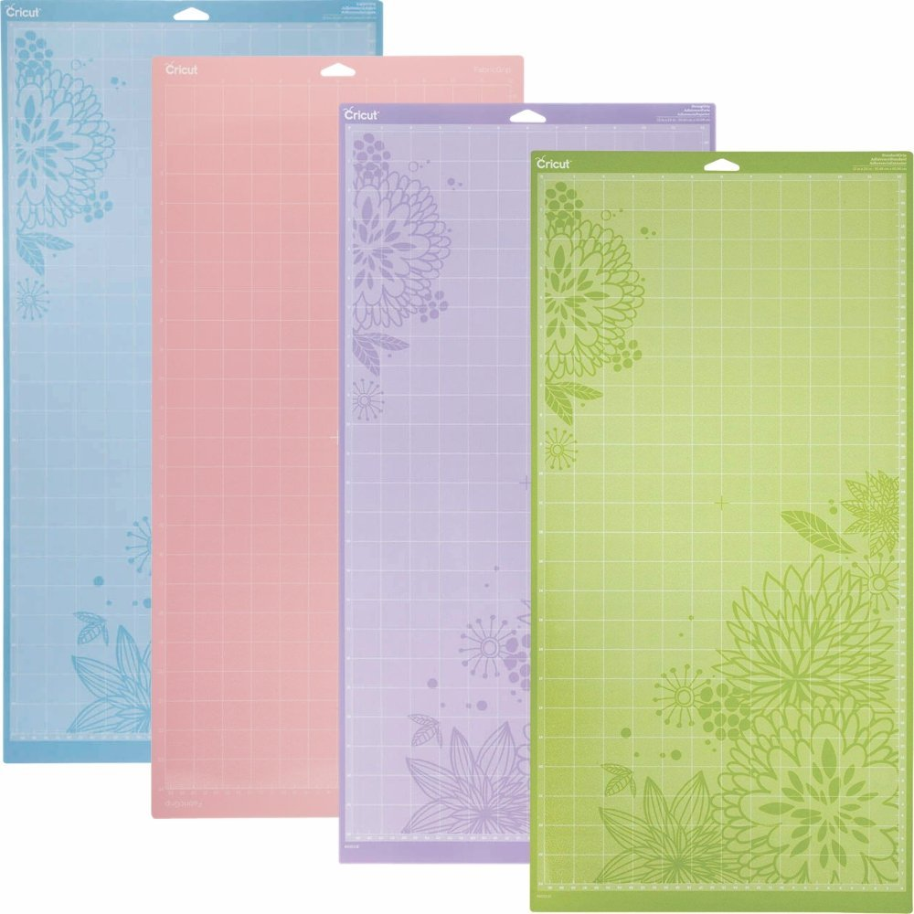 Cricut Cutting Mat Variety 4 Pack, 24 in. x 12 in Cricut Creative labs 4336849693