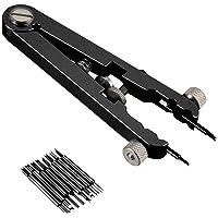 Starmood orologio standard pinze pinzette in acciaio INOX Spring Bar rimozione di rimozione set Tool kit, nero
