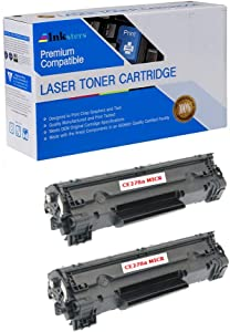 Inksters Compatible Toner Cartridge Replacement for HP 78A CE278A MICR - Compatible with LJ P1566 P1606 P1606dn (2 Pack)