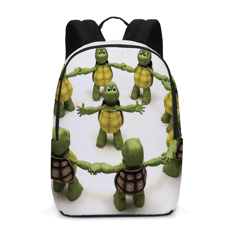 Amazon.com | Reptile Durable Backpack, Ninja Turtles Dancing ...