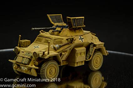 Amazon.com: Rubicon Modelos SdKfz 222/223 Coche Armado Luz ...