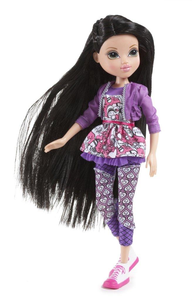 amazon com moxie girlz art titude 3d doll lexa toys games