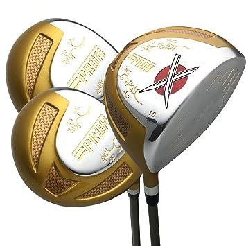 Japón Epron TRG titanio conductor y 3 5 Fairway USGA PGA ...
