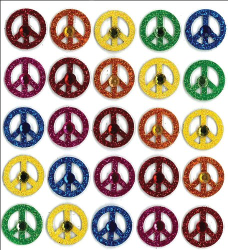 Jolee's Boutique Dimensional Stickers, Peace Signs ()