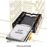 ICY DOCK 2.5インチ SSD×2台搭載用 マウントキット 3.5インチサイズ MB290SP-B