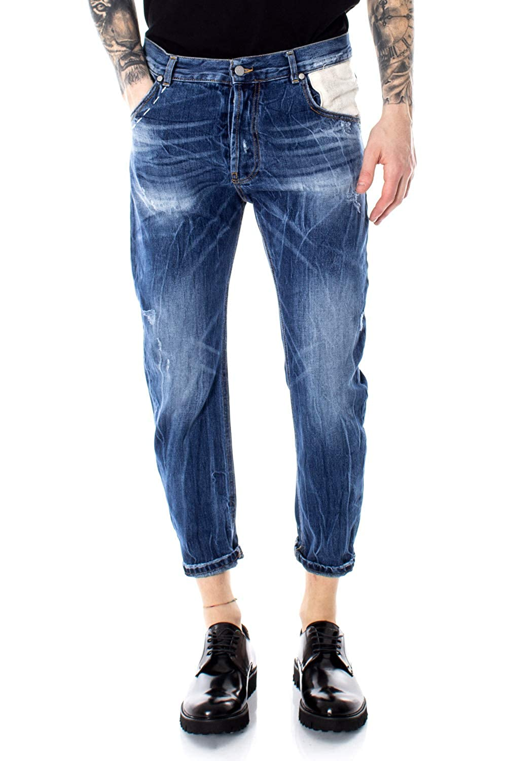 Over-D Man Jeans Patch Free