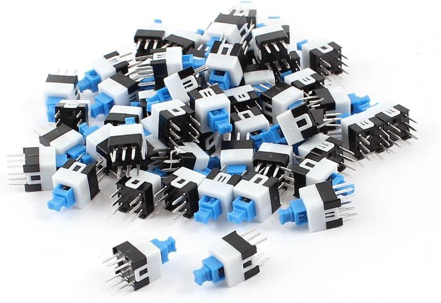 Dpdt Mini Taktschalter 6 Polig Quadratisch 7 X 7 Mm 55 Stück De Baumarkt