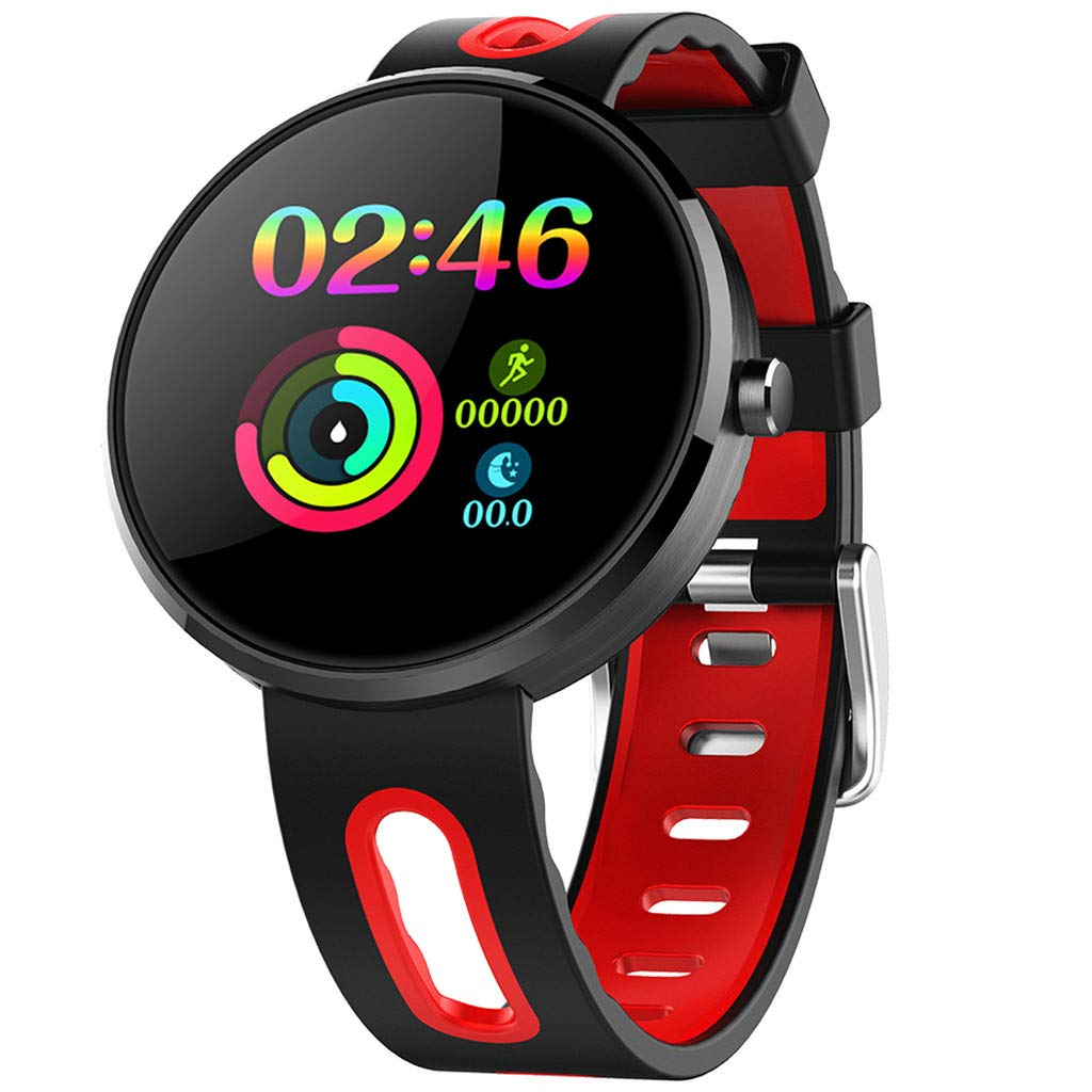 for Android iOS, Sport Smart Watch, Fitness Calorie Heart Rate Monitoring Physiological Cycle Reminder Smart Bracelet (B) by YNAA (Image #3)