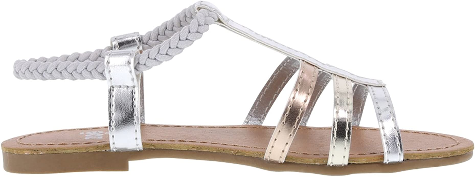 La Redoute Collections Big Girls Woven Leather Sandals