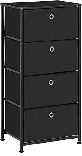 SONGMICS 4-Tier Dresser Units Storage Cabinet