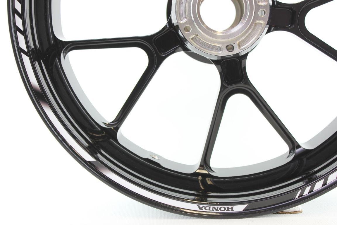Liserets de Jantes SpecialGP Moto Honda Blanche Autocollants