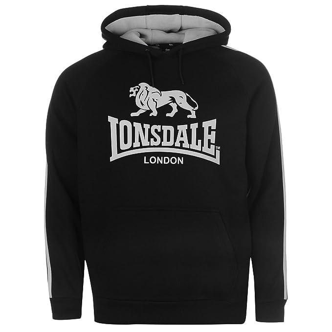 Sudadera Lonsdale, la mas vendida, Fabricada y elaborada integramente Desde españa, Calidad de