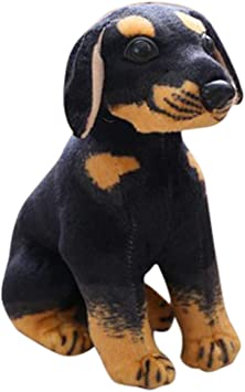 Tickles Black Rottweiler Dog 25 cm