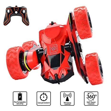 Amazon Com Car Toys For 5 10 Year Old Boys Joyjam Rc Stunt Car Off