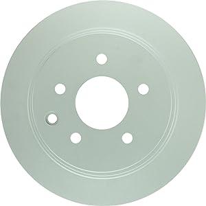 Bosch 40011030 QuietCast Premium Disc Brake Rotor For Nissan: 2002-2016 Altima, 2011-2016 Juke, 2004-2008 Maxima, 2007-2014 Sentra; Rear
