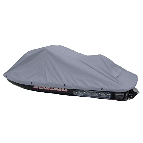 Jet Ski Personal Watercraft Cover in Charcoal Grey, fits up to 128