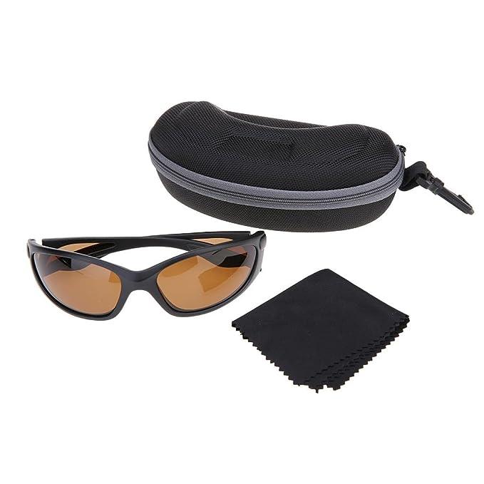 Andux Lunettes de pêche lunettes polarisantes protection de Pêche lunettes en vélo VTT Lunettes de soleil Gl-05 (grise) 0qVqi7DS8