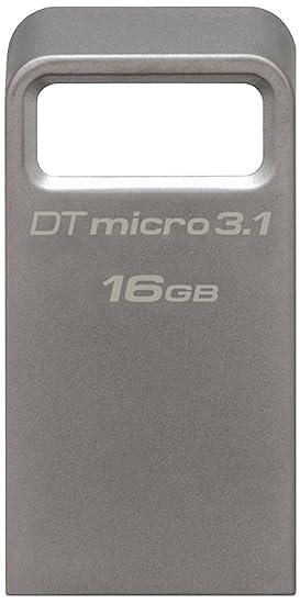 Kingston DataTraveler DTMC3 16 GB USB 3.0 Flash Drive  Silver  Pen Drives