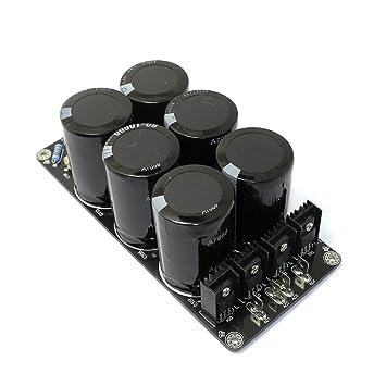 Q-BAIHE 6 * 10000uf/80 V Dos Paralelo Alta Calidad Amplificador de Energía