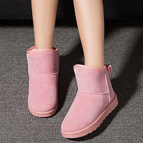 Las botas NSXZ mujer de despu de nuevas Duantong nieve invierno 67xqdT