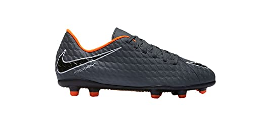 Nike Unisex Kinder Jr Phantom 3 Club Fg Fussballschuhe Grigio Dark Greytotal Orangewhite 081 34 Eu