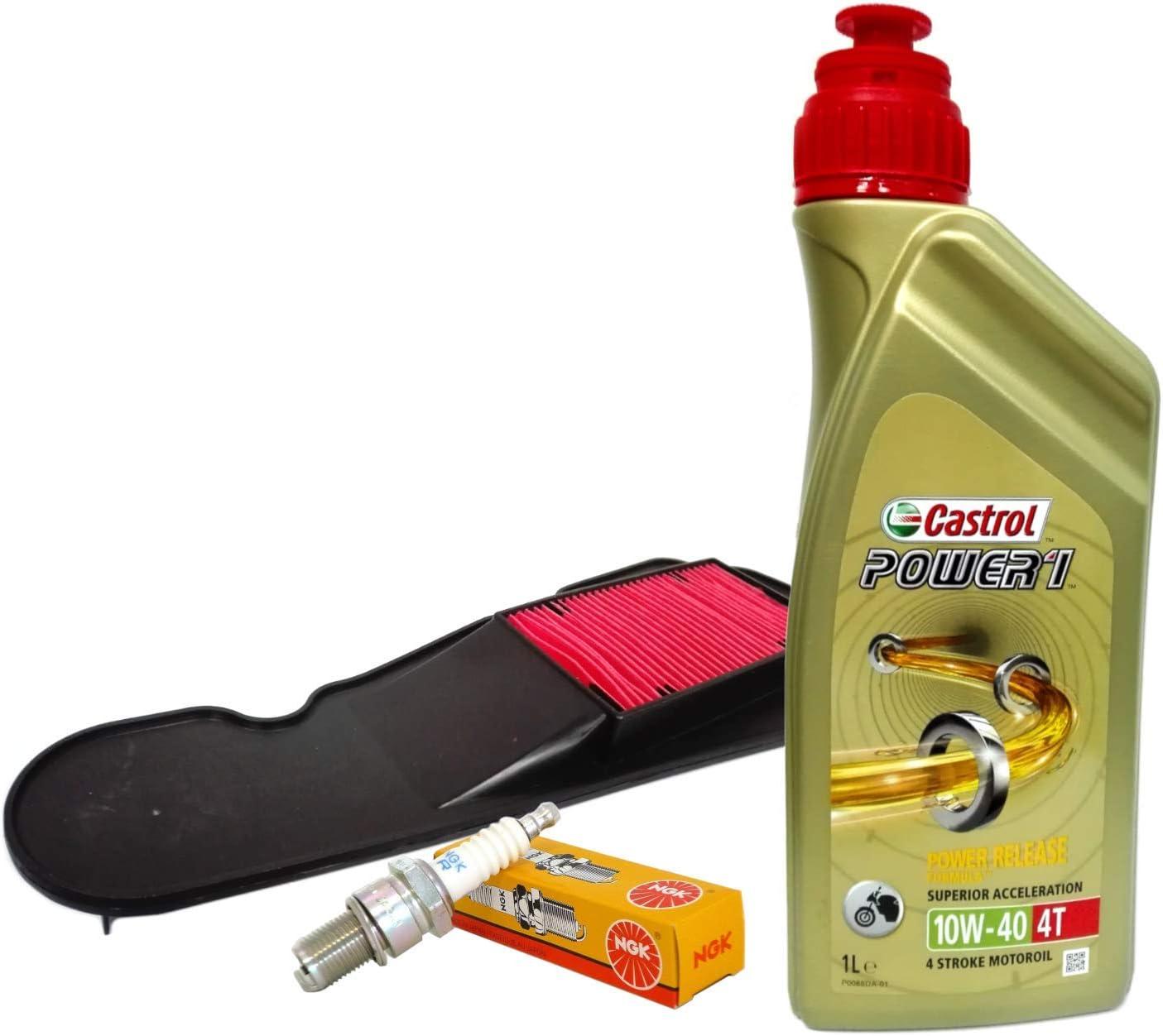 Castrol 10w40 Ölfilter Kerze Nsc Vision 110 4t Auto