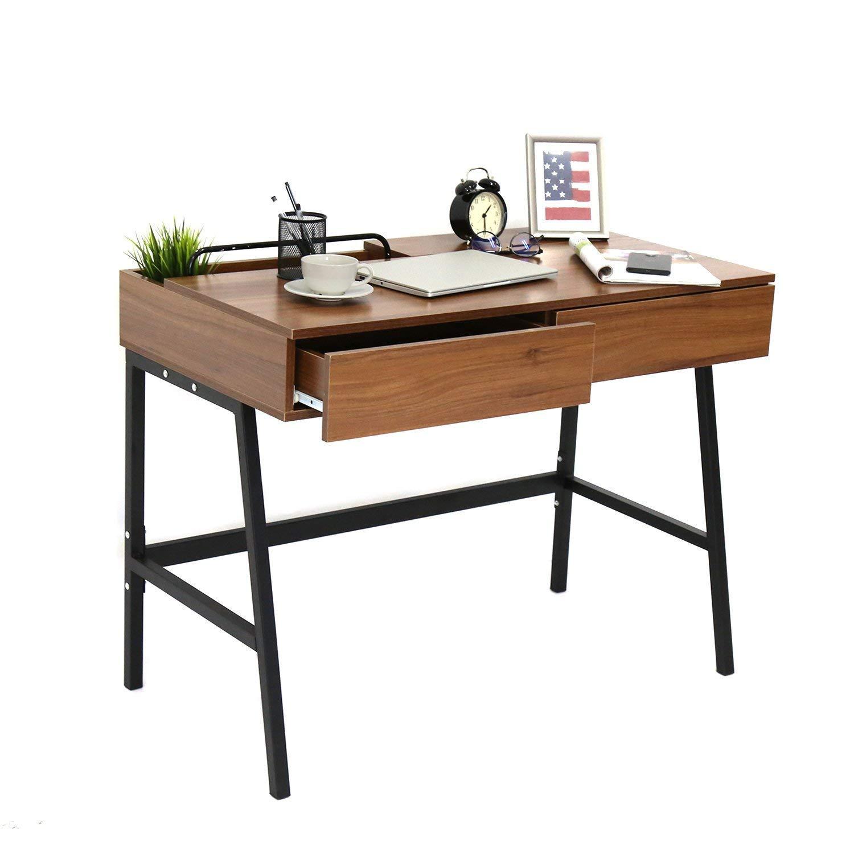 amazon com kinbor computer desk modern stylish 39\