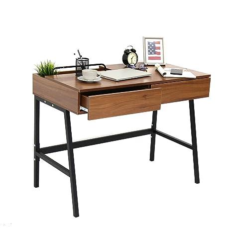 wholesale dealer b3f1d 85c8e Kinbor Computer Desk Modern Stylish 39