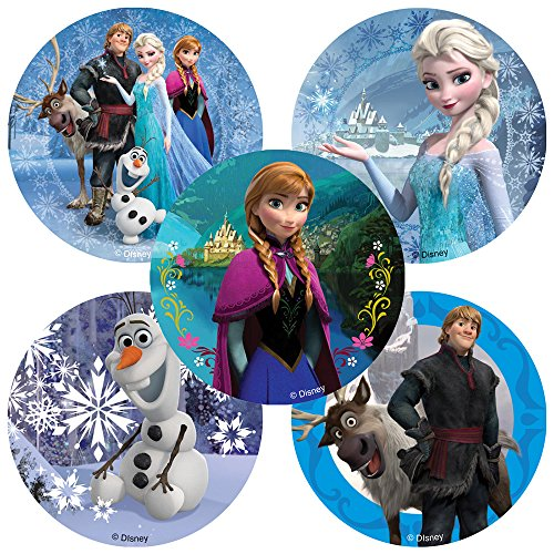 Disney Frozen Movie Stickers - 100 Per Pack]()