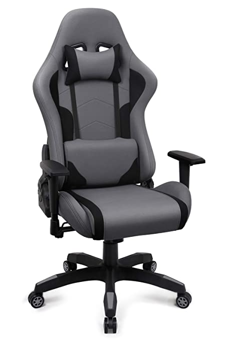 IntimaTe WM Heart Fabric Gaming Chair, Breathable Racing Office Chair for  Bedroom, Ergonomic Swivel High Back Recliner Computer Desk Chair (Upgraded,  ...