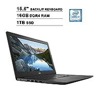 2019 Dell Inspiron 15 5000 15.6 Inch FHD Laptop (Intel Quad Core i7-7500U up to 3.5 GHz, 16GB RAM, 1TB PCIe SSD, Intel HD Graphics 620, Standard Keyboard, WiFi, Bluetooth, HDMI, Windows 10 Home)