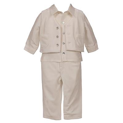 Heritage - Costume de baptême - Bébé (garçon) 0 à 24 mois Ecru Antique White