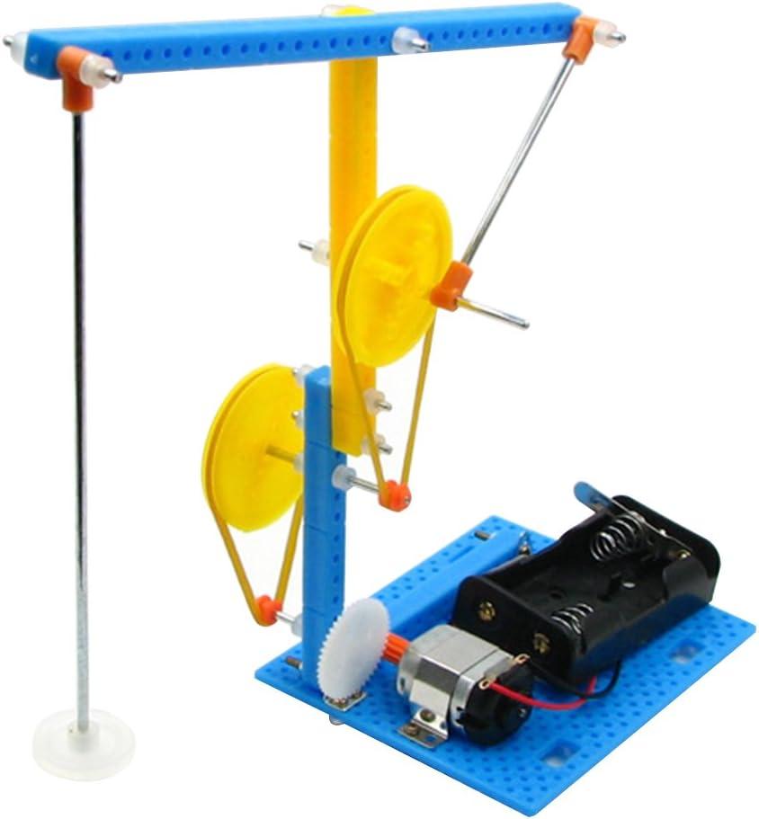 Toyvian Unidad de Bombeo de Bricolaje Material de la máquina Experimento científico Modelo de Ciencia del Juguete Material del Curso