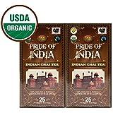 Pride Of India - Organic Indian Chai/Spice Tea, 25 Count (2-Pack) REGULAR PRICE: $19.99, SALE PRICE: $15.99